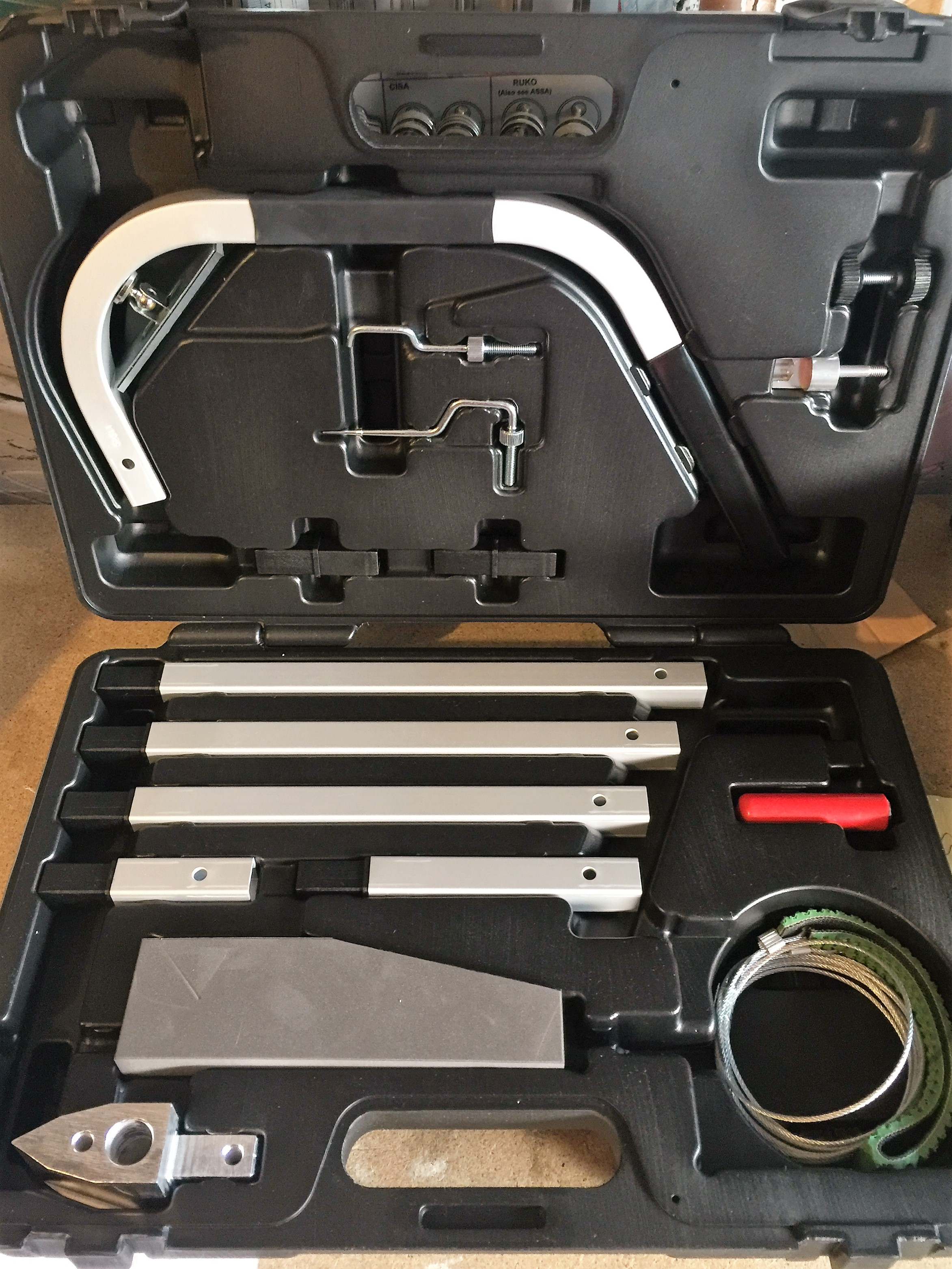 Letterbox Tool Souber Tools Orginal Locksmith Complete